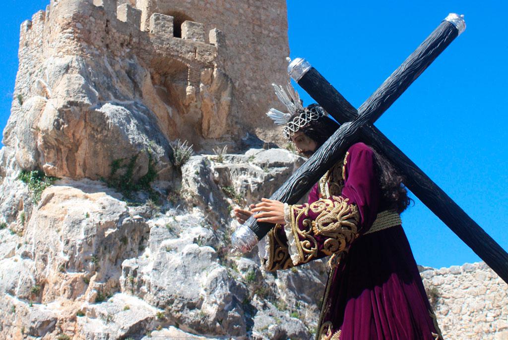 Dia de Jesus Nazareno en Zuheros